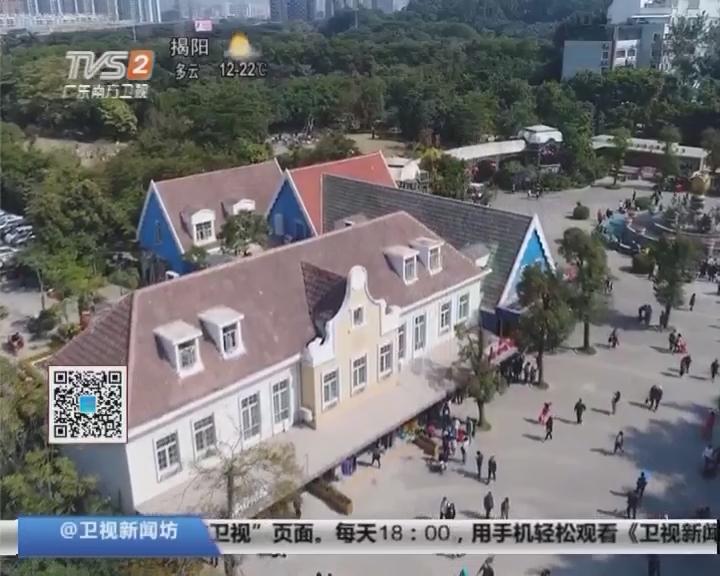 航拍深圳:鹏城装点一新喜迎新年