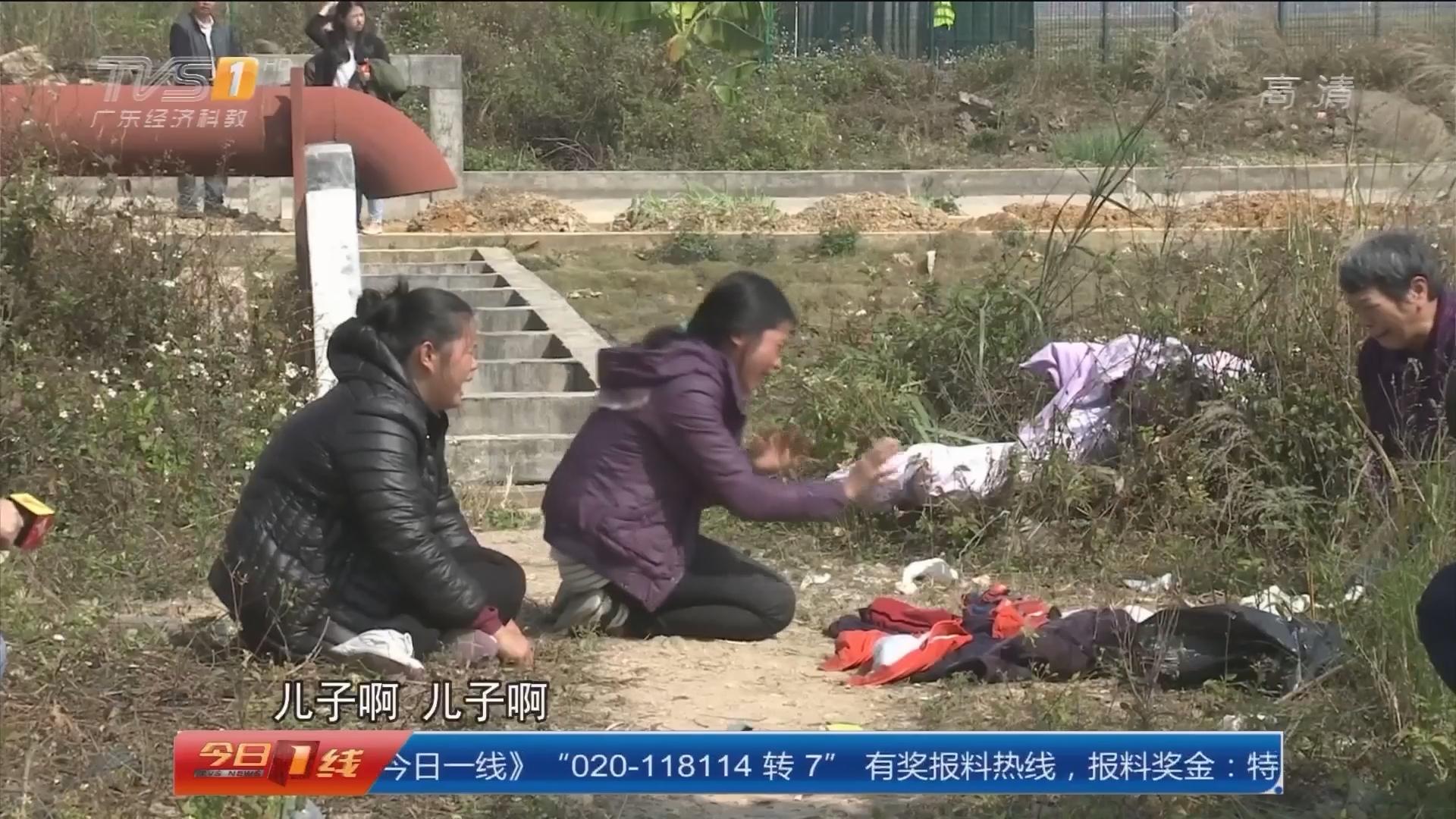 广州白云人和镇明星村:看飞机引发的悲剧 六岁男童溺亡