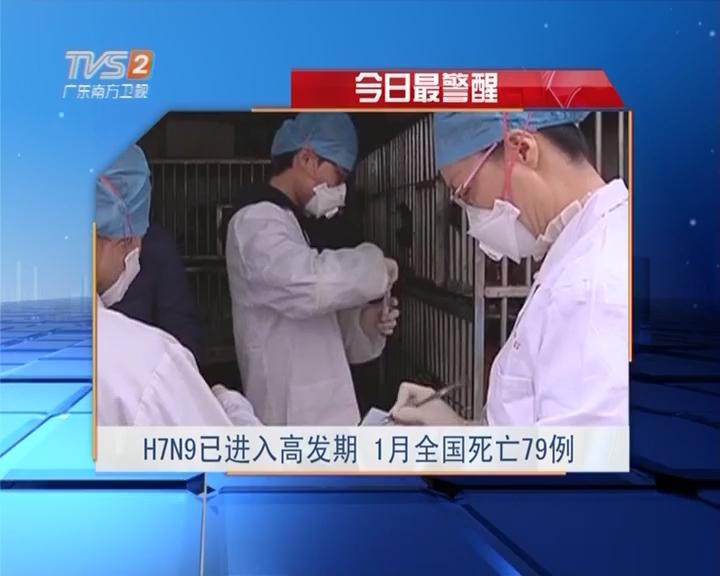 今日最警醒:H7N9已经入高发期 1月全国死亡79例