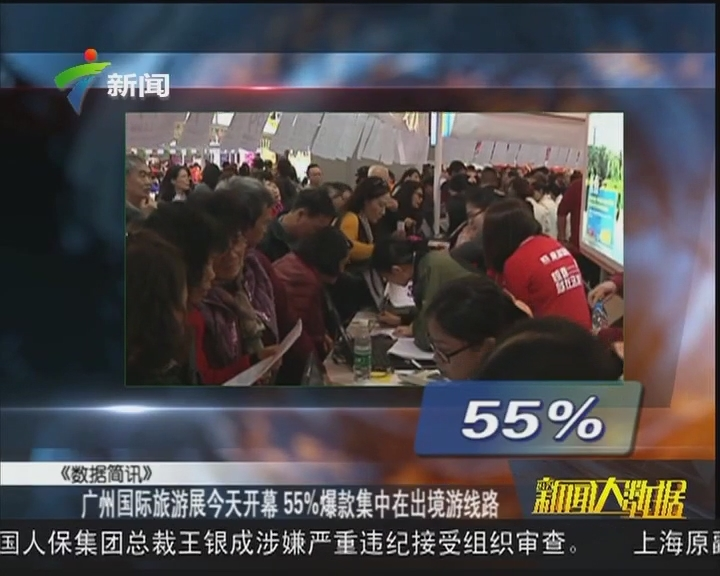 广州国际旅游展今天开幕 55%爆款集中在出境游线路