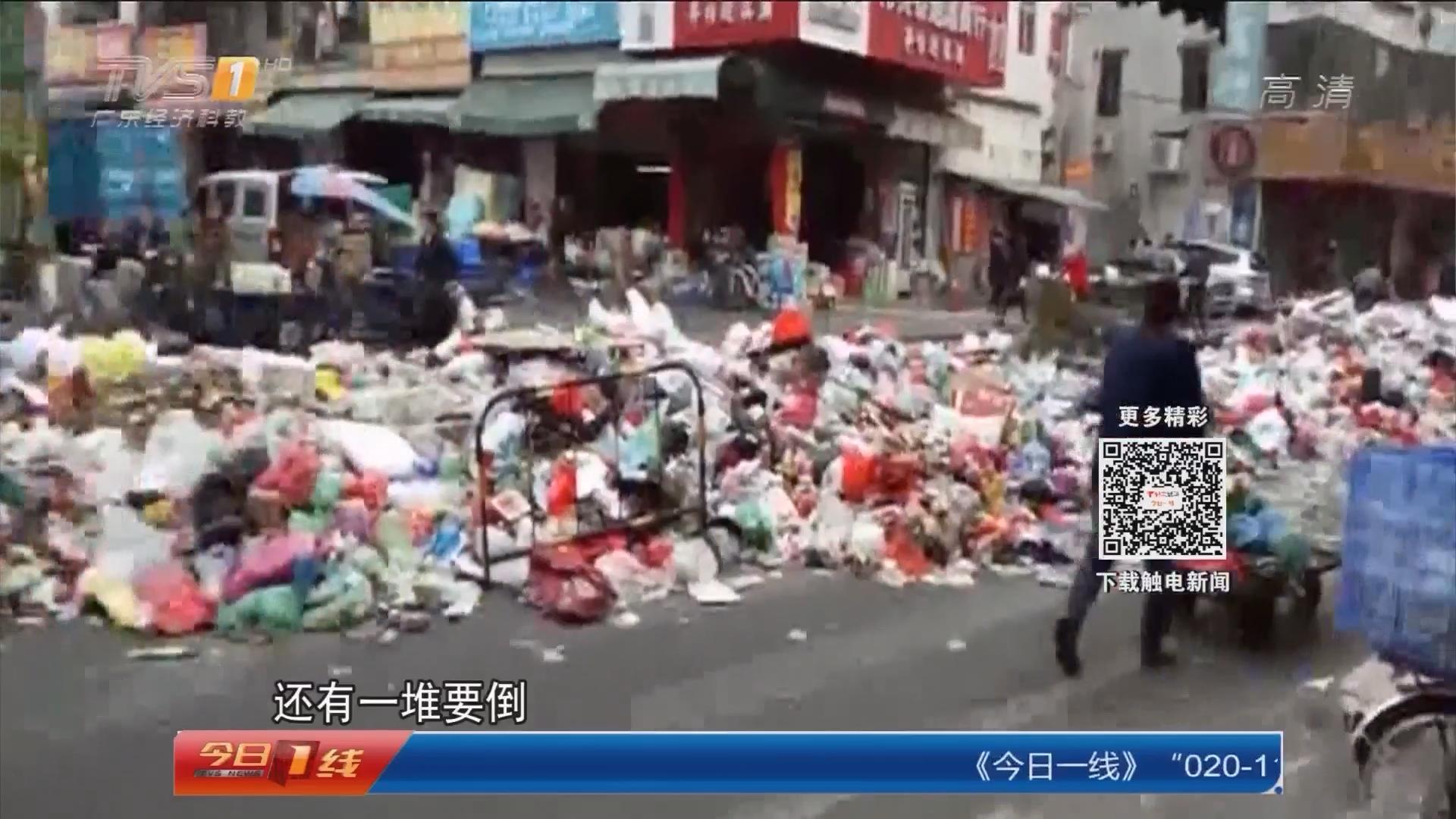 深圳坪山:进出通道成垃圾街 街坊苦不堪言