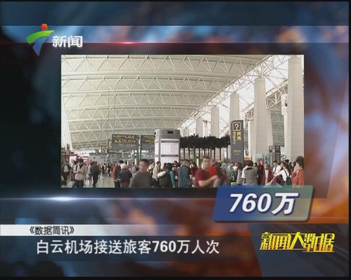 白云机场接送旅客760万人次