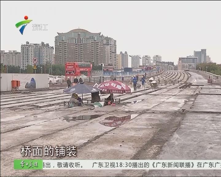 广州大桥预计6月完成扩宽工程正式通车