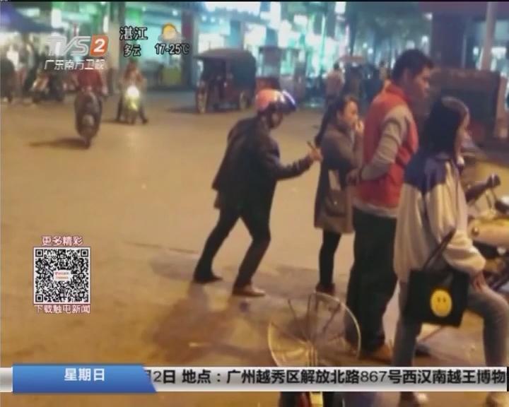 广西来宾:女子刷盗窃视频 才知自己手机被偷