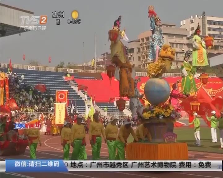 广府庙会巡游:城隍爷出国 巡游不失风采