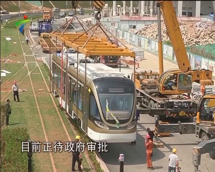 深圳:有轨电车月底试开行 票价暂定2元