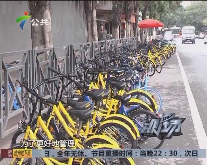 共享单车:规范停放 便民整洁