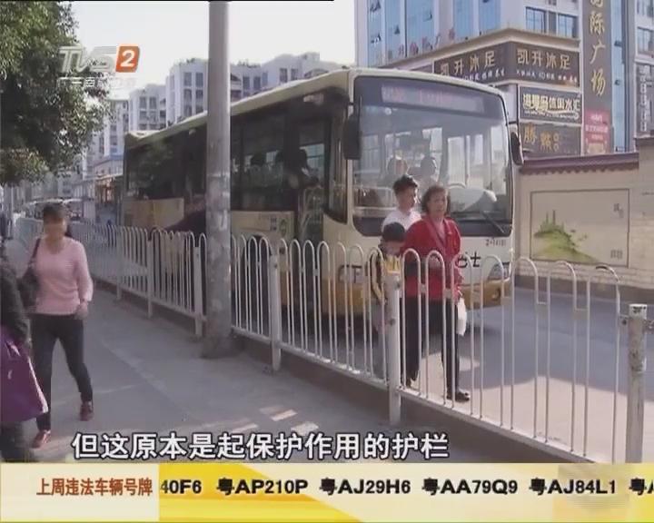 上步公交车站上下车困难