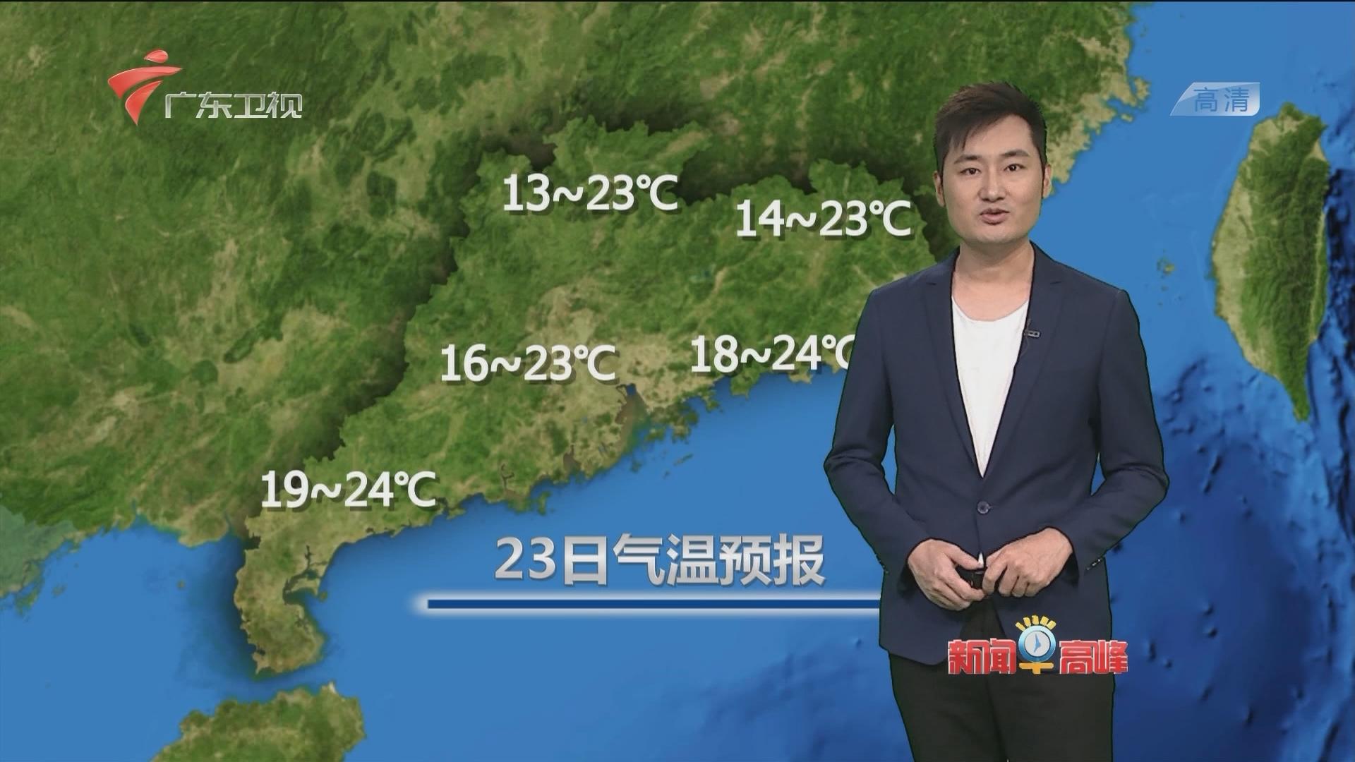 20170423天气预报