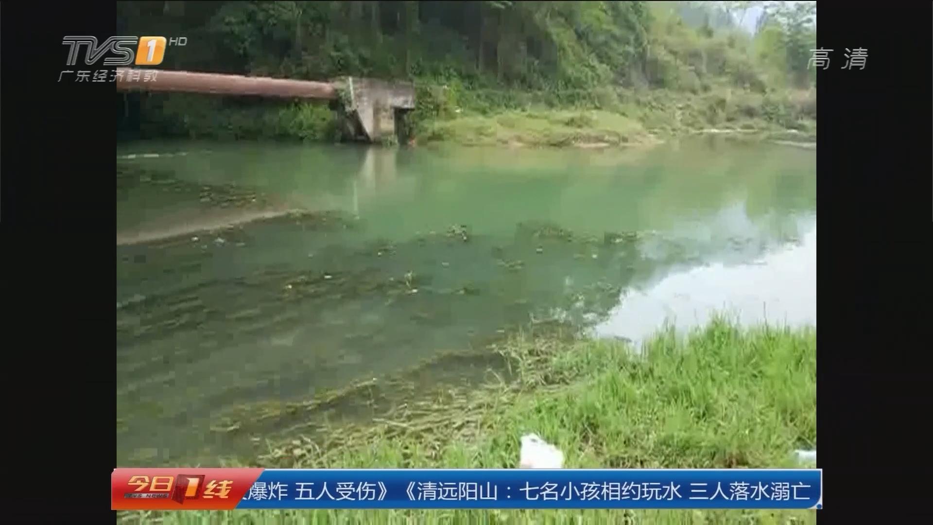 清远阳山:七个小孩相约玩水 三人落水溺亡!