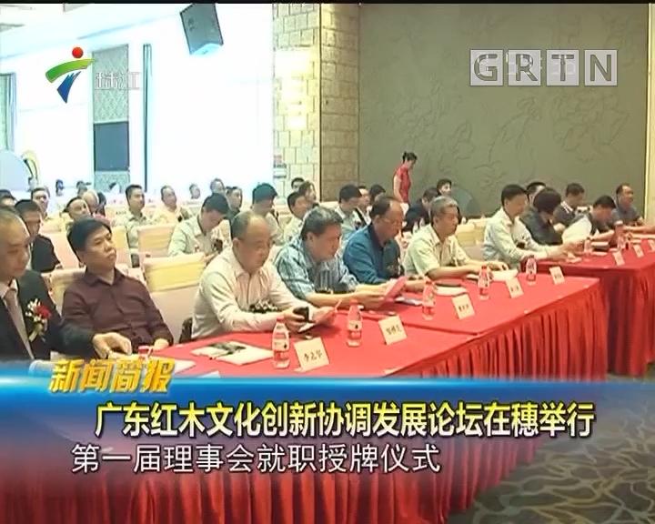 广东红木文化创新协调发展论坛在穗举行