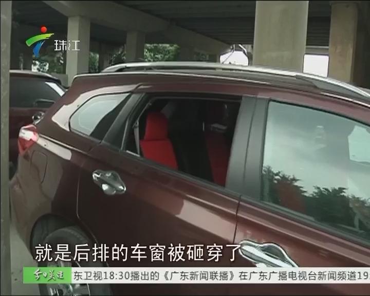金沙洲:一夜之间 十多辆车被砸窗盗窃