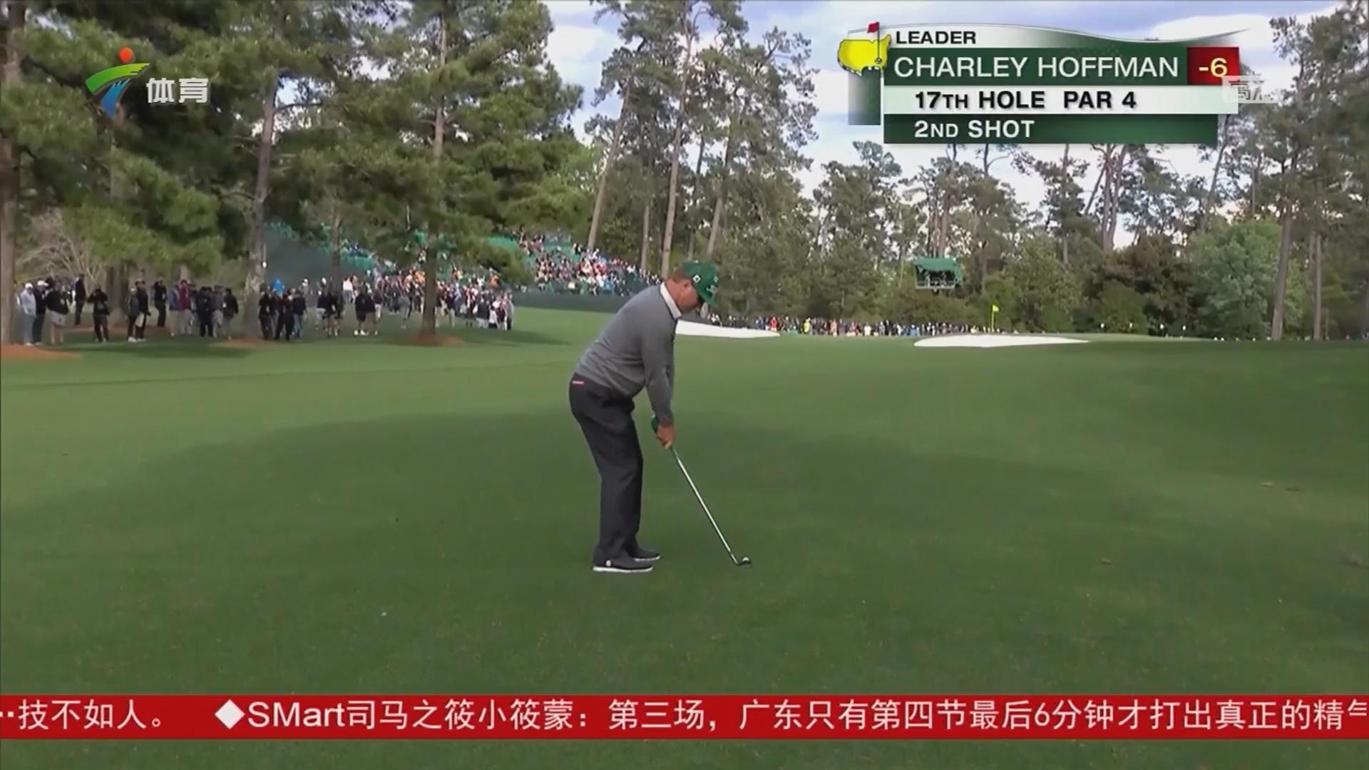 高尔夫美国大师赛 美国老将将取得首轮单独领先