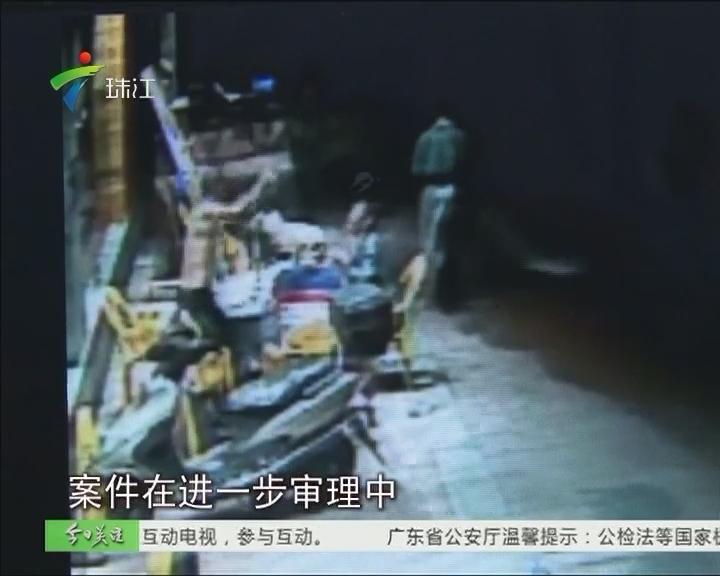 广州:环卫工人遭醉汉怒打 警方擒凶