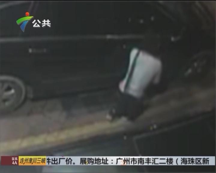 花都警方抓获一专偷豪车后视镜犯罪团伙