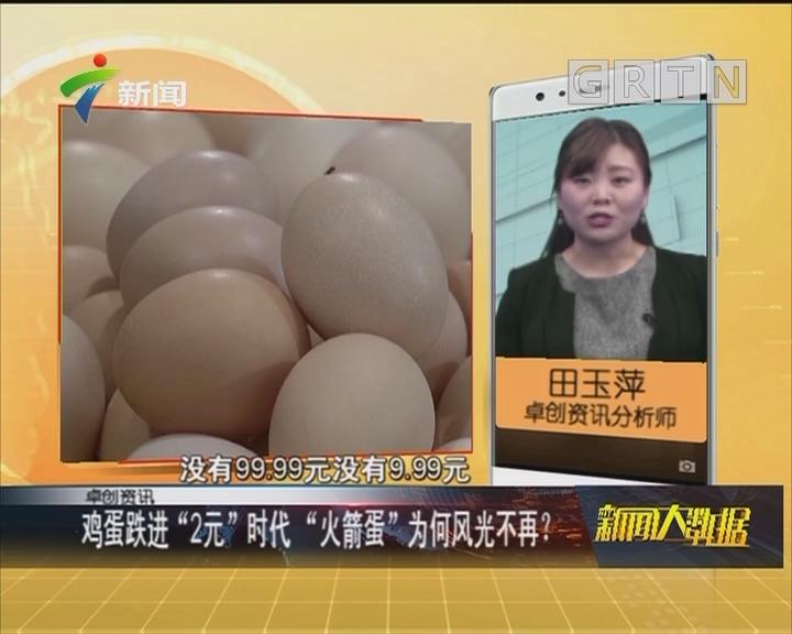"""鸡蛋跌进""""2元""""时代 """"火箭蛋""""为何风光不再?"""