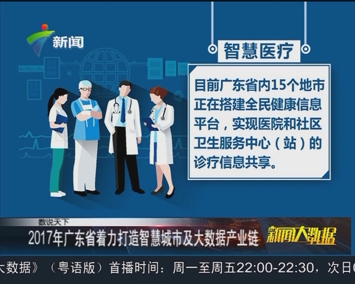 2017年广东省着力打造智慧城市及大数据产业链
