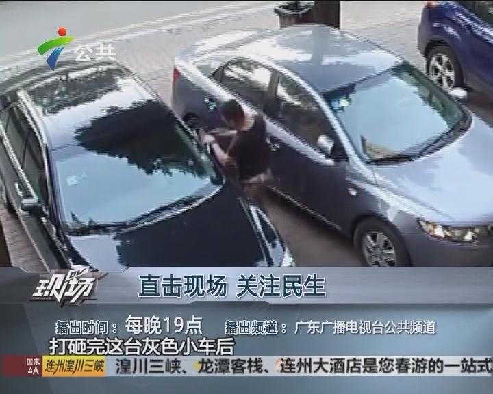 警方破获车辆被砸案 原是有人酒后闯祸