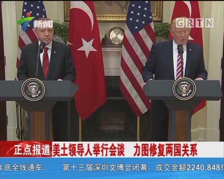 美土领导人举行会谈 力图修复两国关系