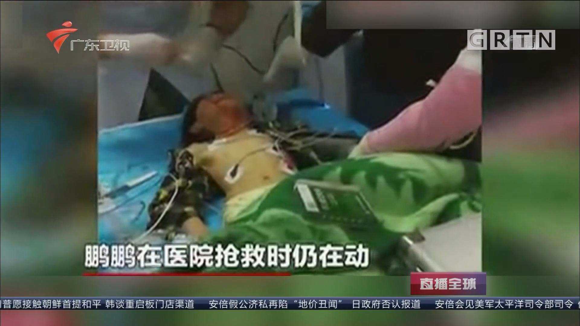 死亡线上捡条命 得来一点不轻松 男童坠楼后被120认定死亡 家属强行送医救活