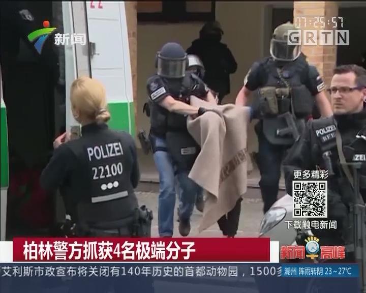柏林警方抓获4名极端分子