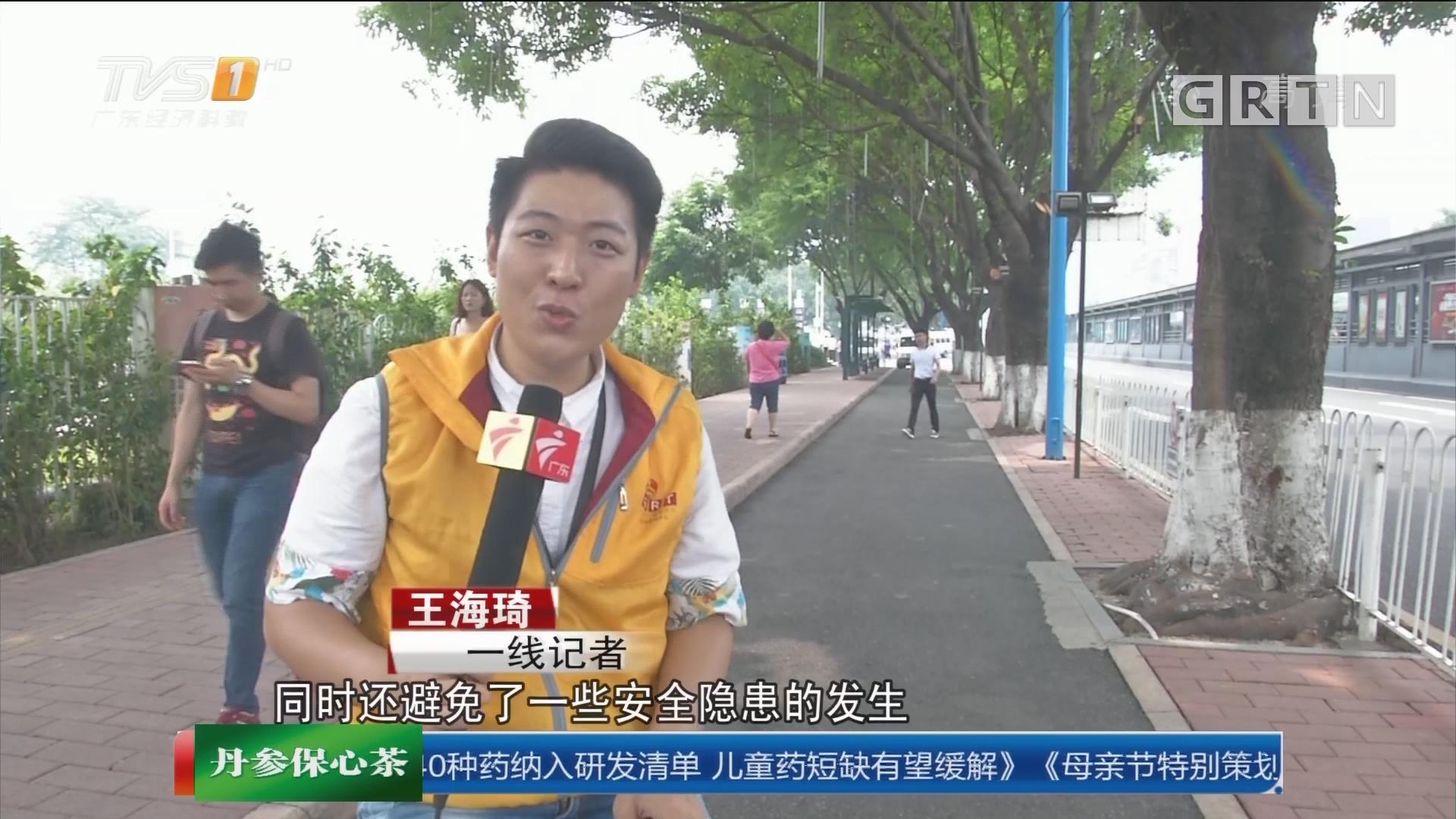 广州拟建自行车专用道:记者体验骑车出行 人车争道很危险