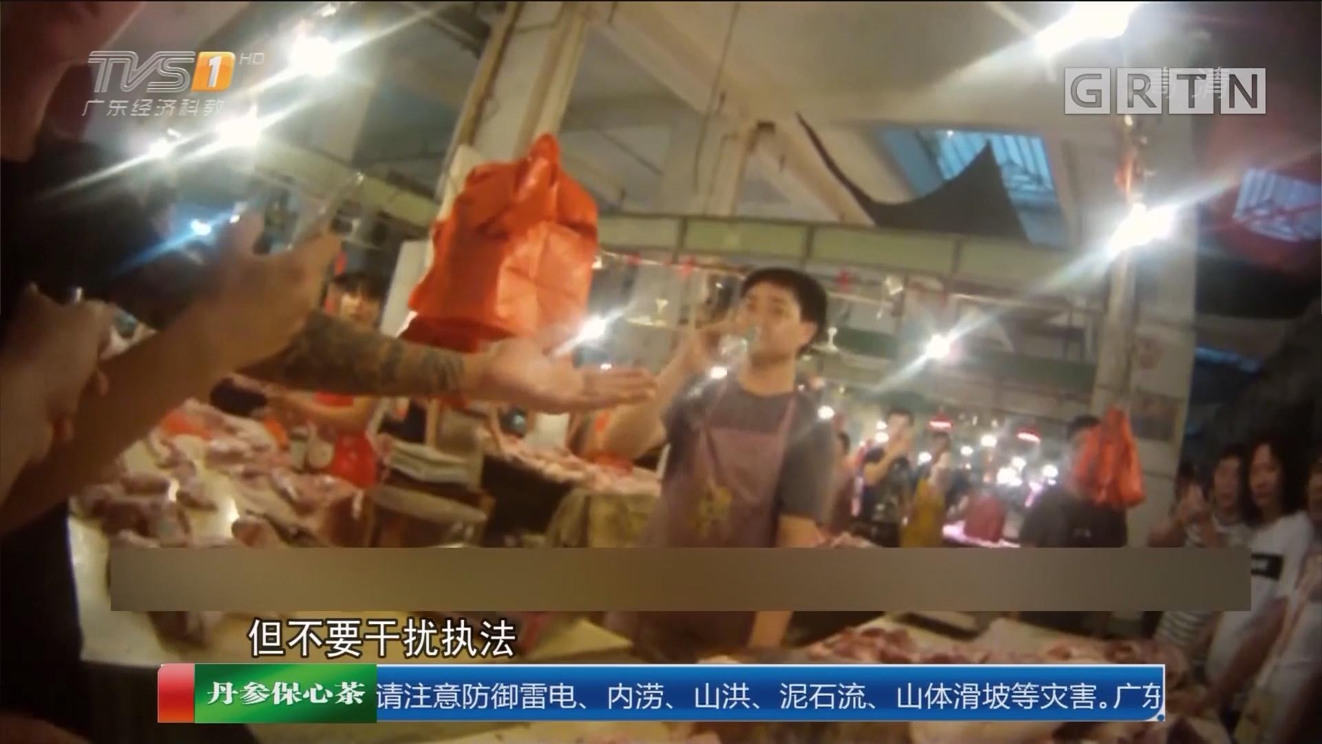 湛江雷州:警方拘四人 竟然受雇干扰执法