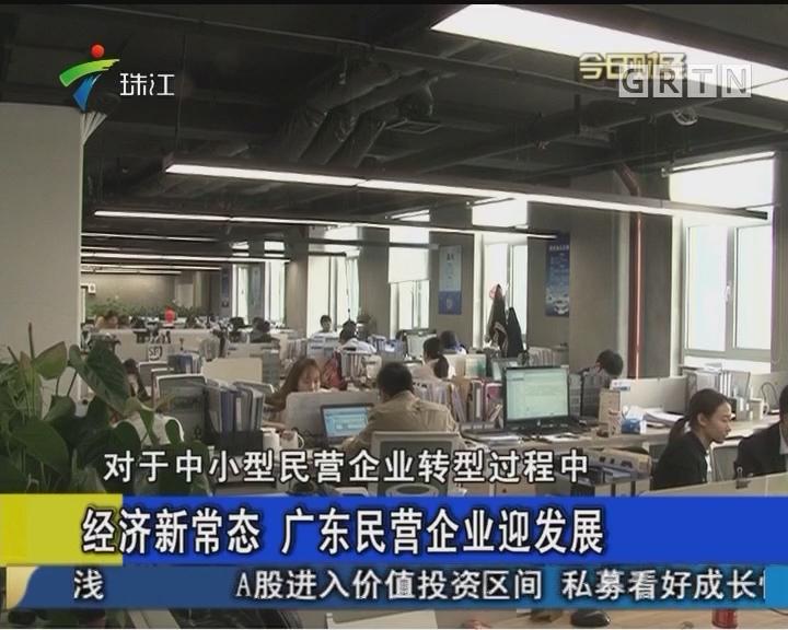 经济新常态 广东民营企业迎发展