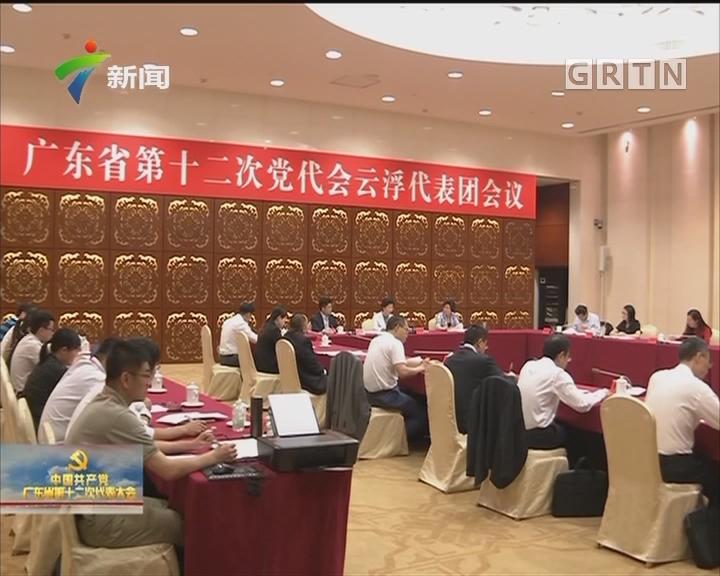 各代表团热议中国共产党广东省第十一届委员会报告
