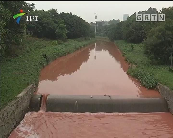 黄埔:乌涌出现异味 建环局迅速介入调查