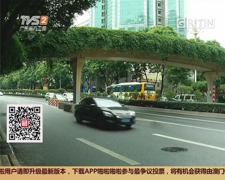 """广州东风路:11年挨撞6次""""最悲催""""天桥或将改造"""