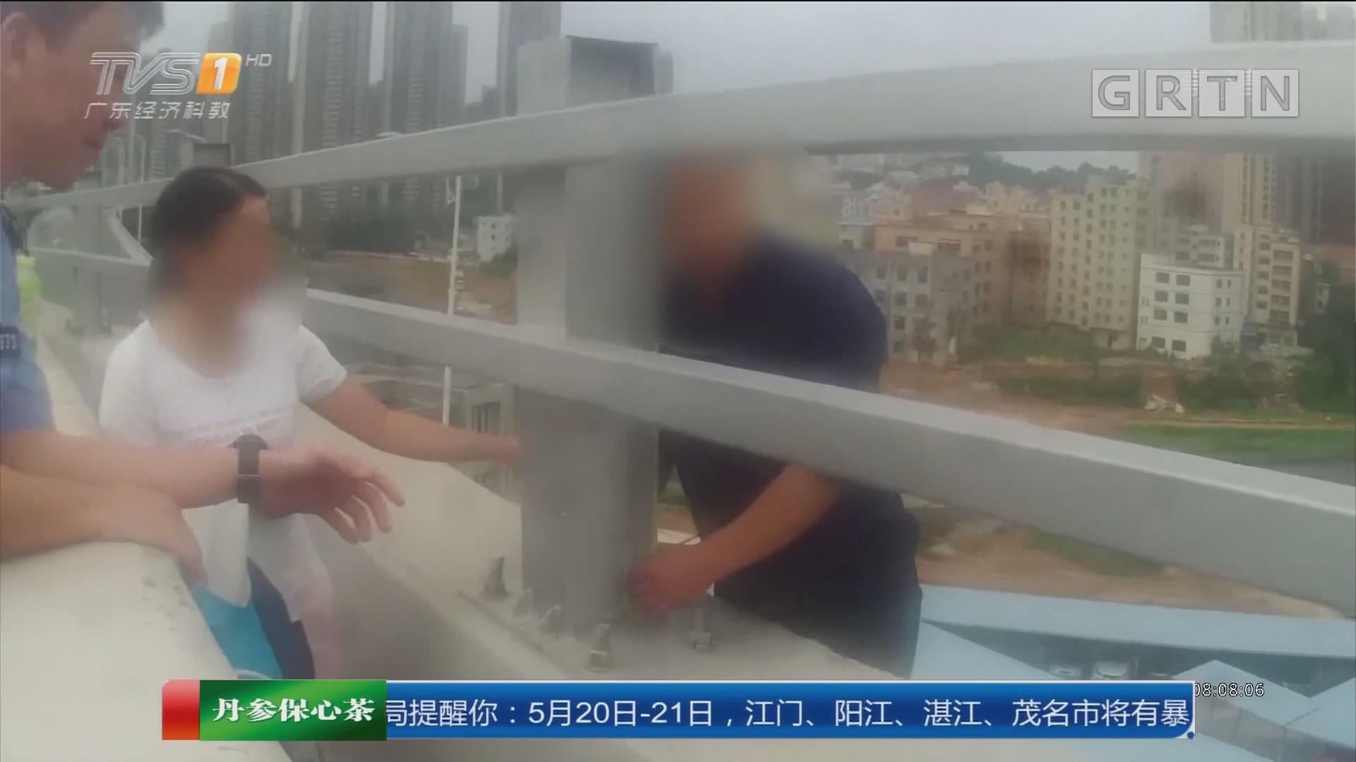深圳:男子遇情感纠葛 民警3小时解救