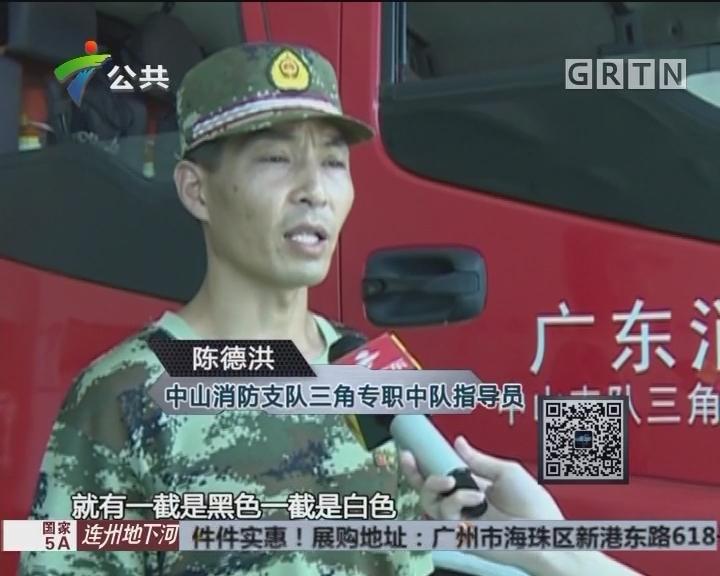 中山:闲逛遇蛇出没 吓坏一众街坊