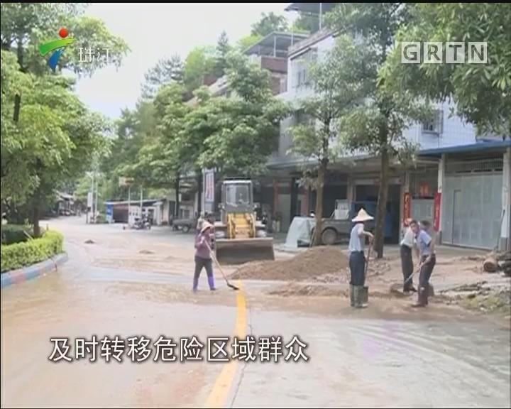强降雨致梅州河源多地受灾 积极抗灾复产