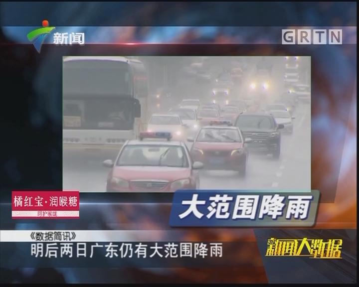 明后两日广东仍有大范围降雨