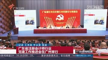 广东省注册会计师行业党建工作推进会在广州举行