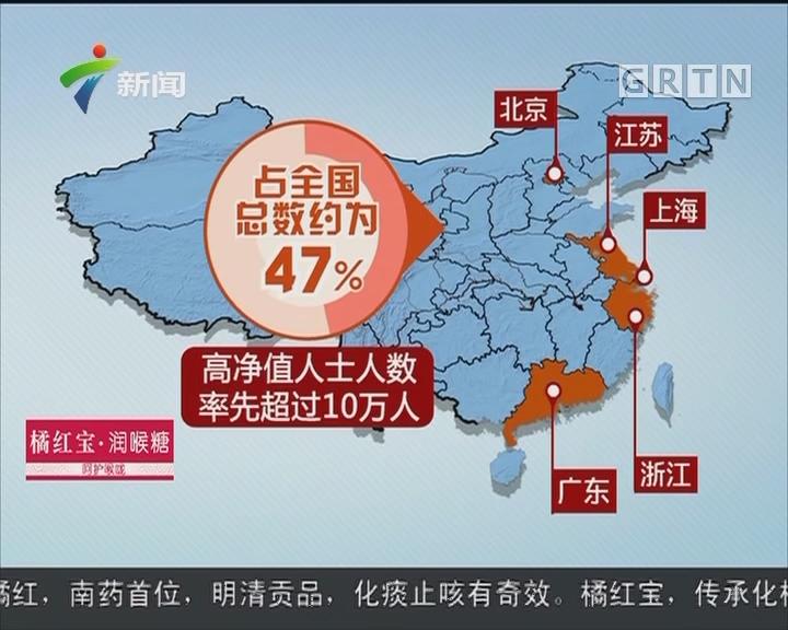 中国近6年平均每天490人晋升千万富翁