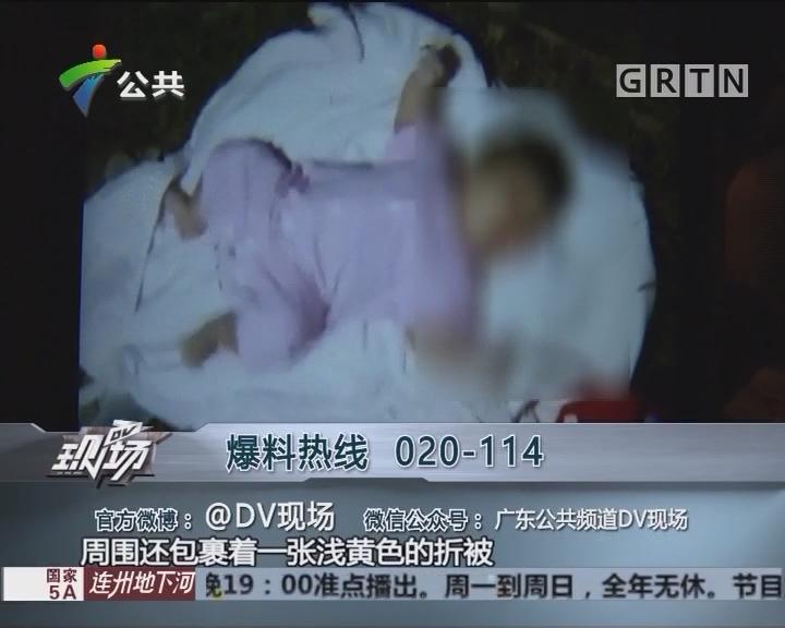 中山:草丛发现小婴儿 街坊热心救助