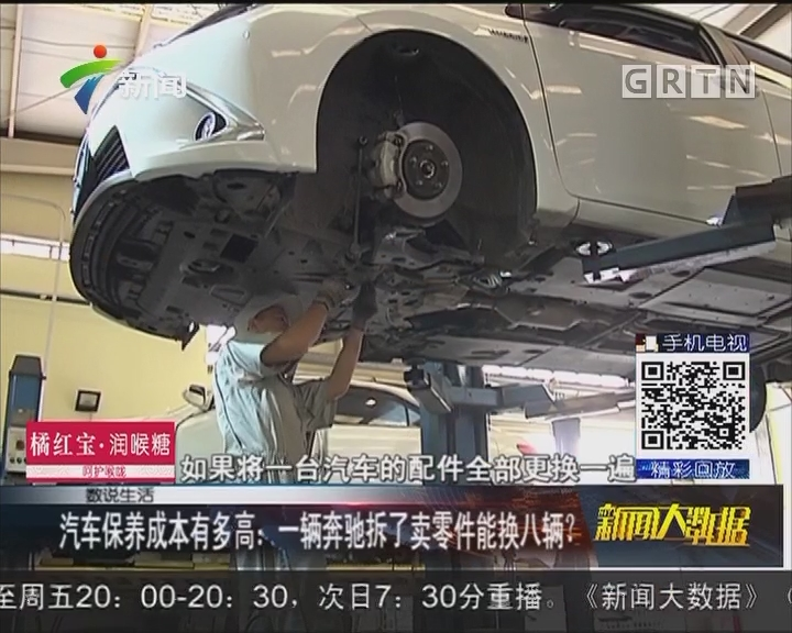 汽车保养成本有多高:一辆奔驰拆了卖零件能换八辆?