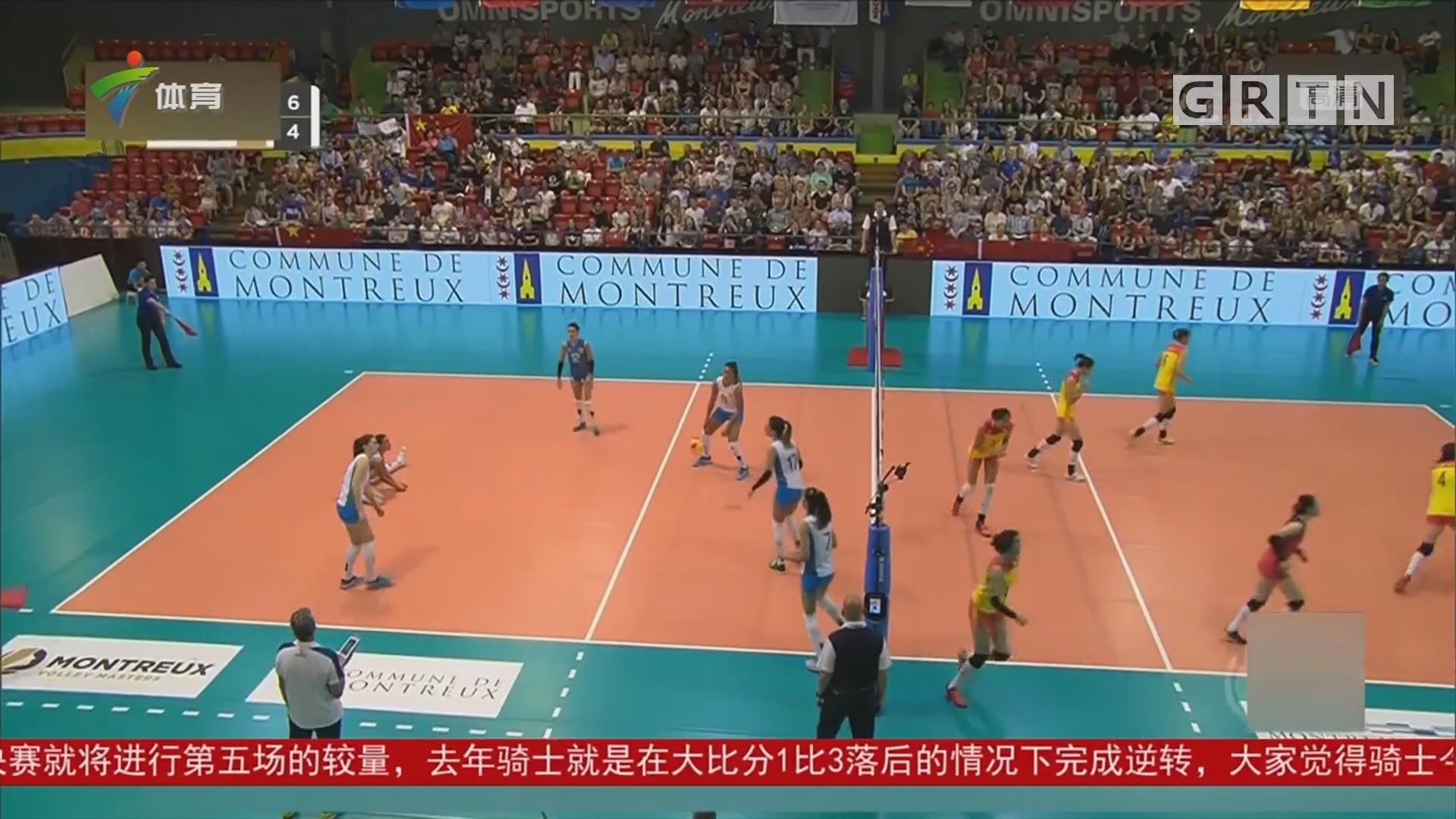 中国队获瑞士女排精英赛季军