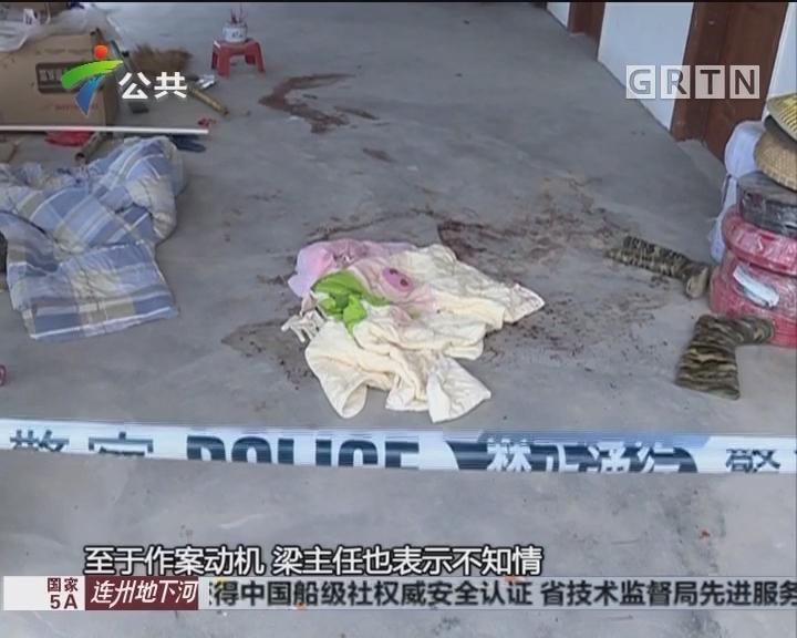 韶关:两村民猪场遇袭 嫌疑人已被警方控制