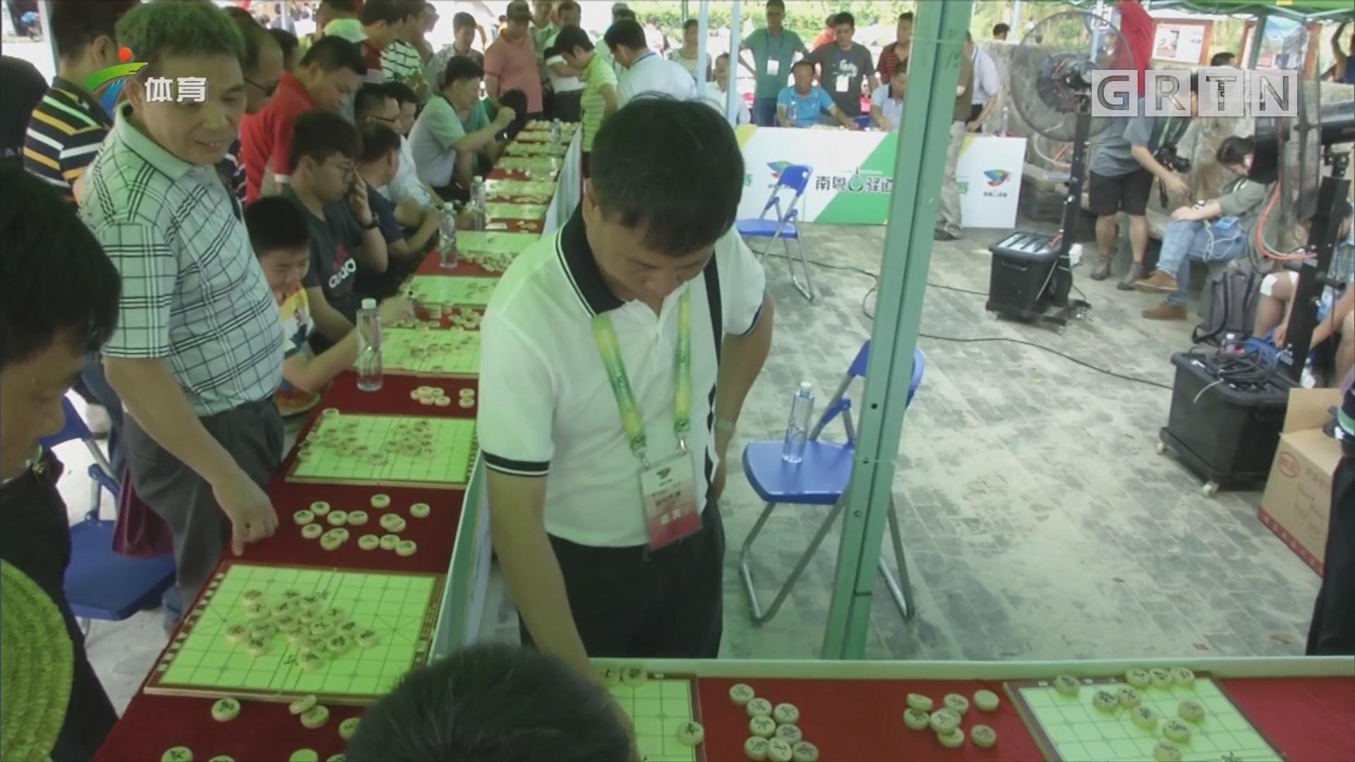 下象棋 看展览 定向大赛周边亦精彩