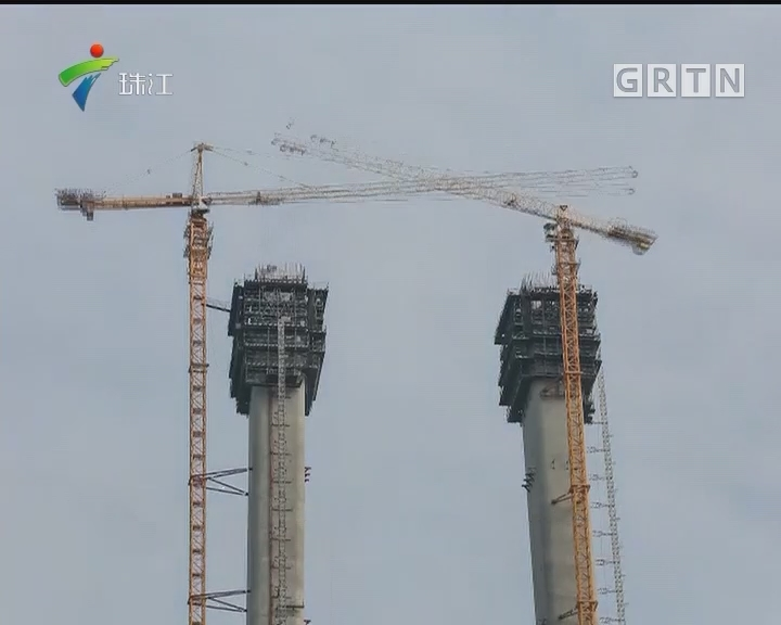 8吨先导索飞架珠江 虎门二桥2019年通车