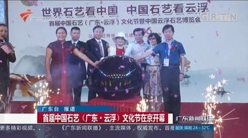 首届中国石艺(广东·云浮)文化节在京开幕