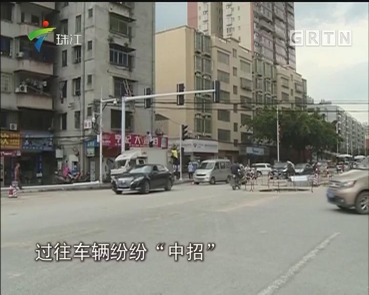 """佛冈:市政施工遗留钉子 多辆车辆""""中招"""""""