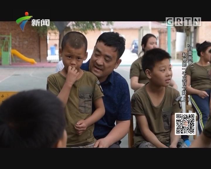 """[2017-06-14]社会纵横:""""白菜爸爸""""和他的一千三百个娃(上)"""