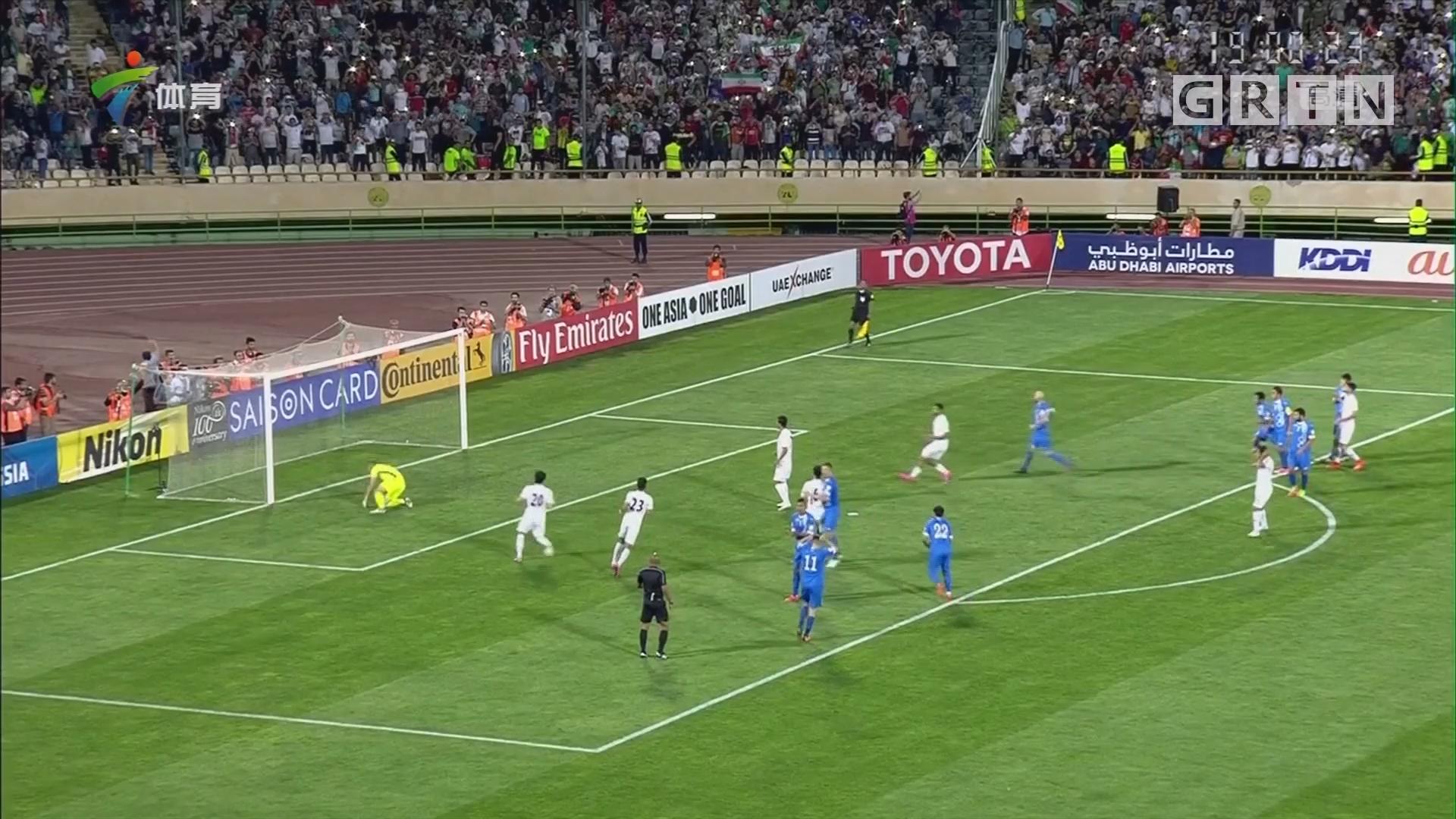 伊朗提前两轮晋级俄罗斯世界杯