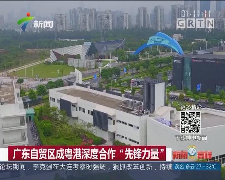 """广东自贸区成粤港深度合作""""先锋力量"""""""