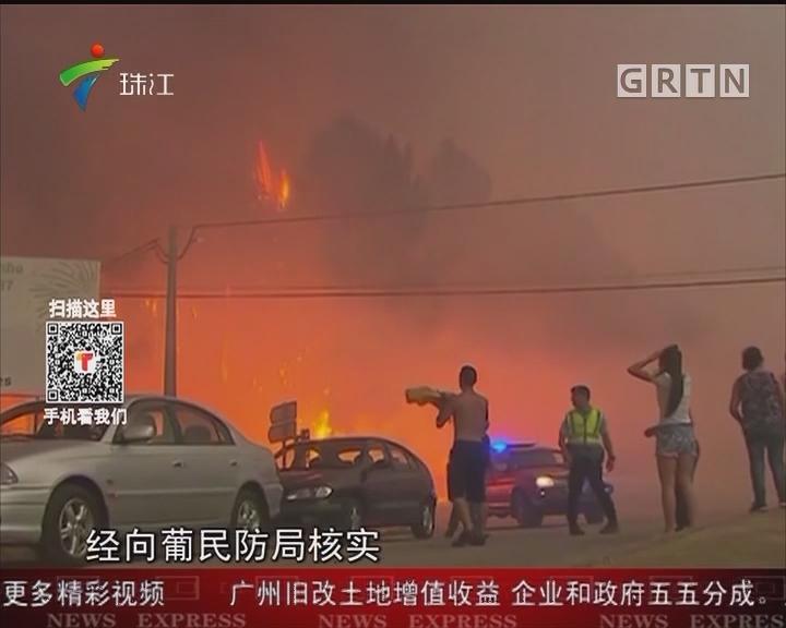 葡萄牙森林火灾死亡人数上升至62人