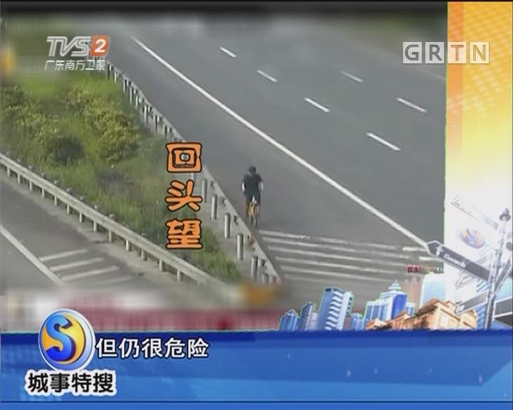 共享单车上高速